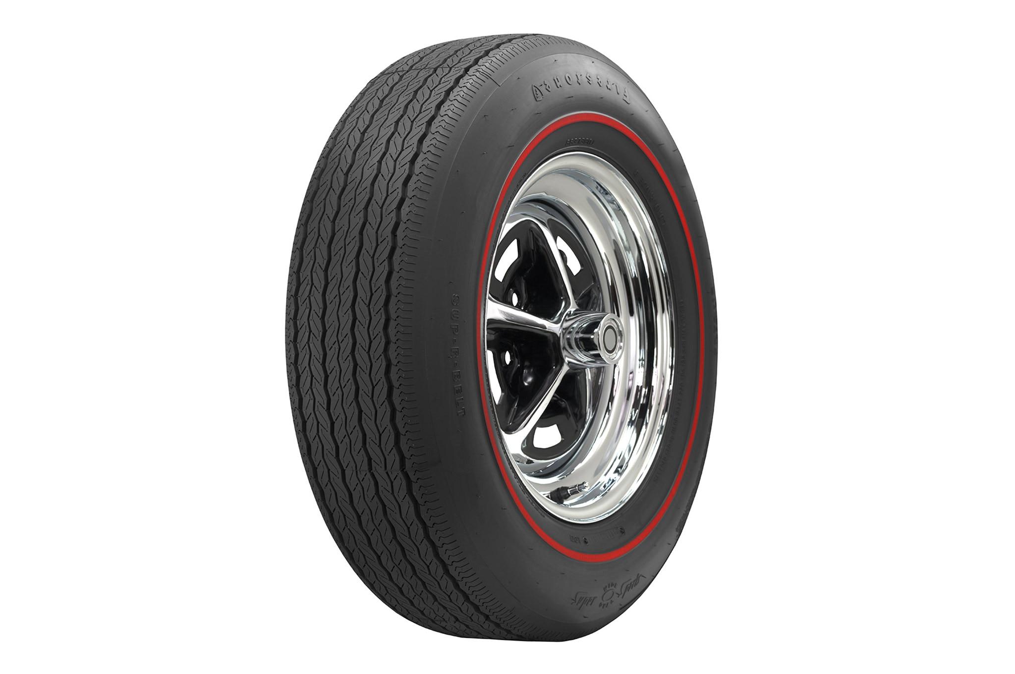 Coker Tire Firestone Wide Oval Redline