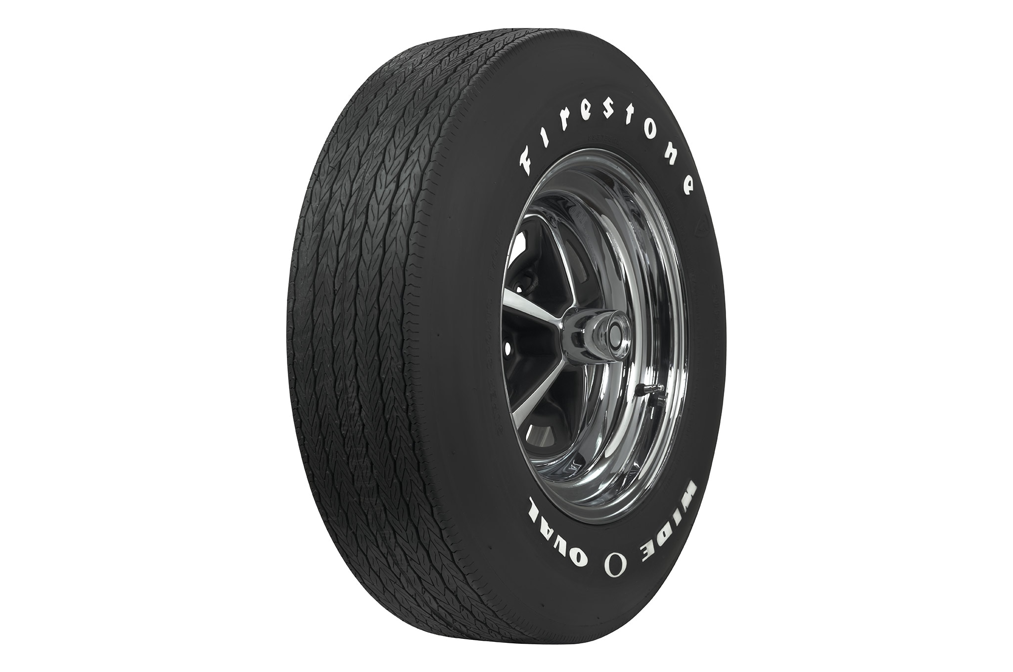 Coker Tire Firestone Wide Oval White Letter