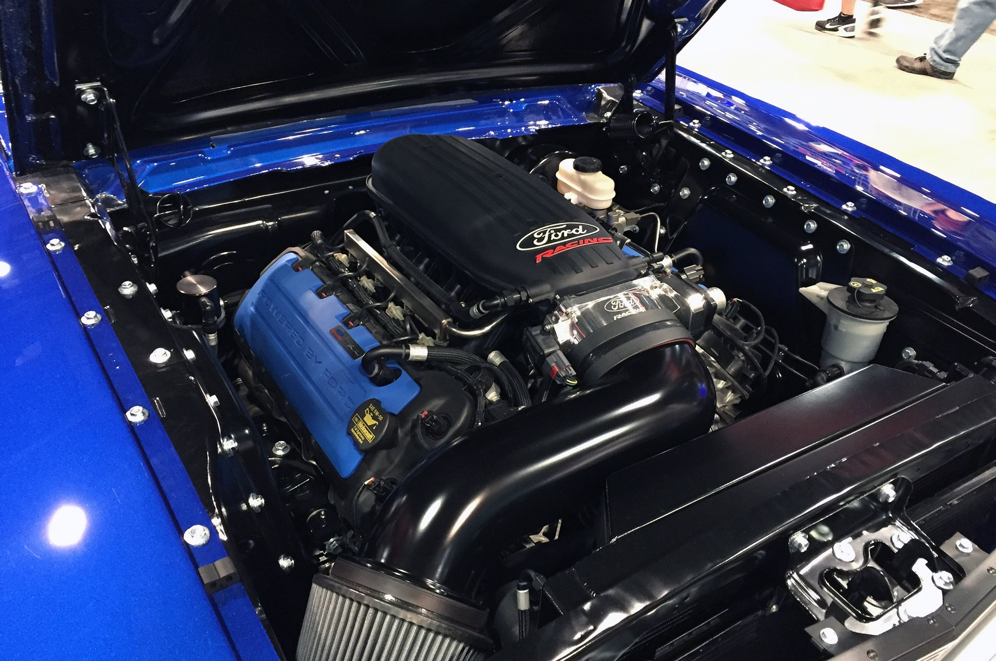 Holley Coyote Swap Kit 1965 Ford Mustang Engine