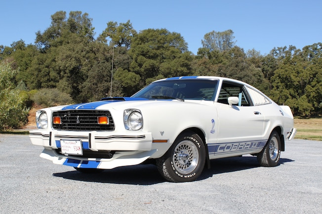 1976 Ford Mustang Cobra Front Side