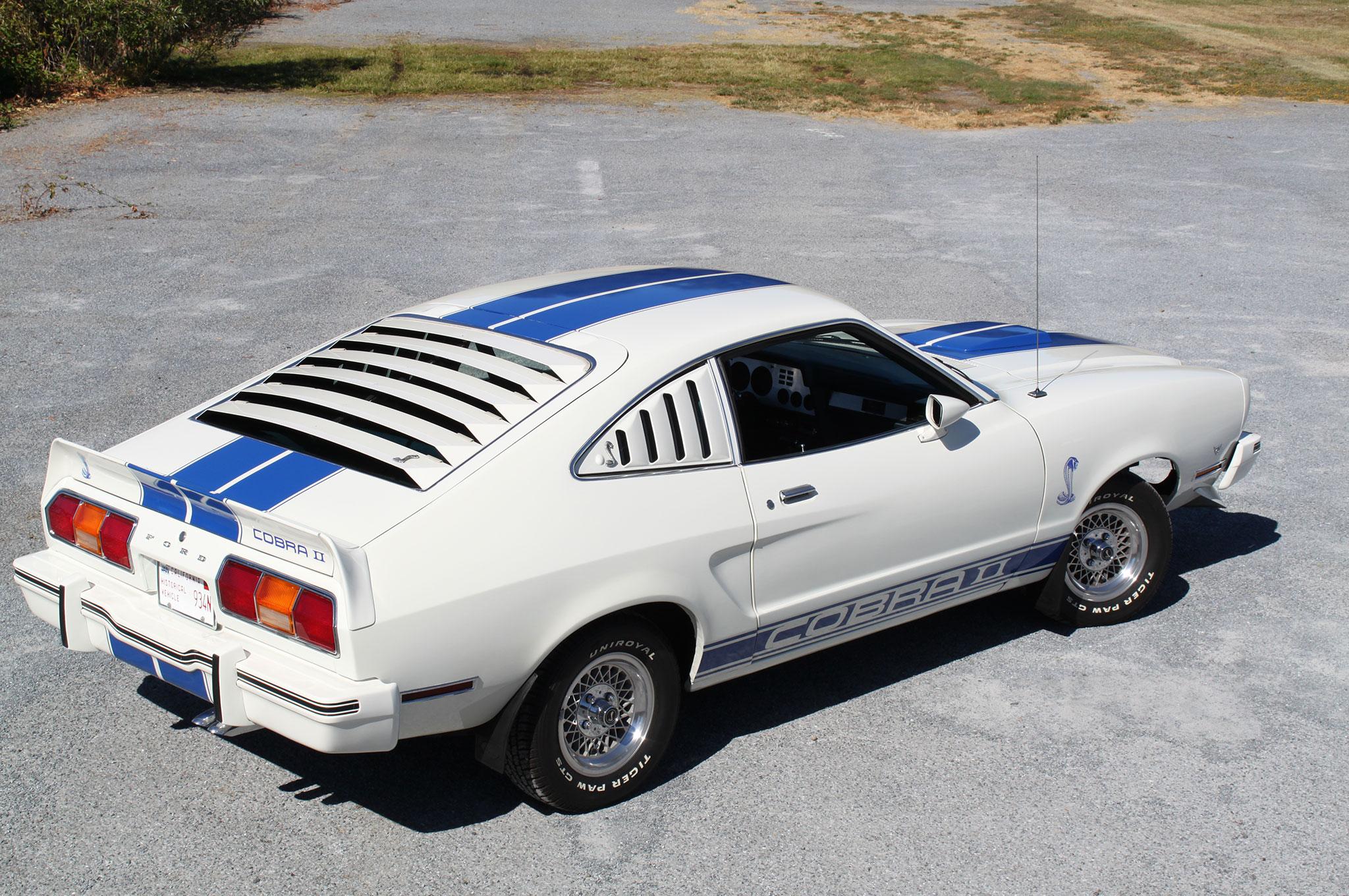 1976 Ford Mustang Cobra Rear