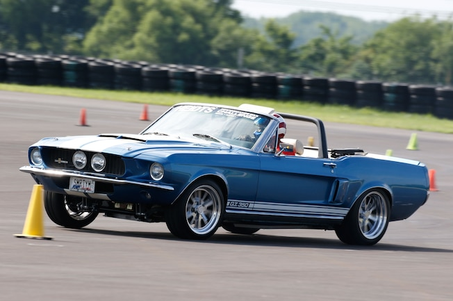 1968 Ford Mustang Side