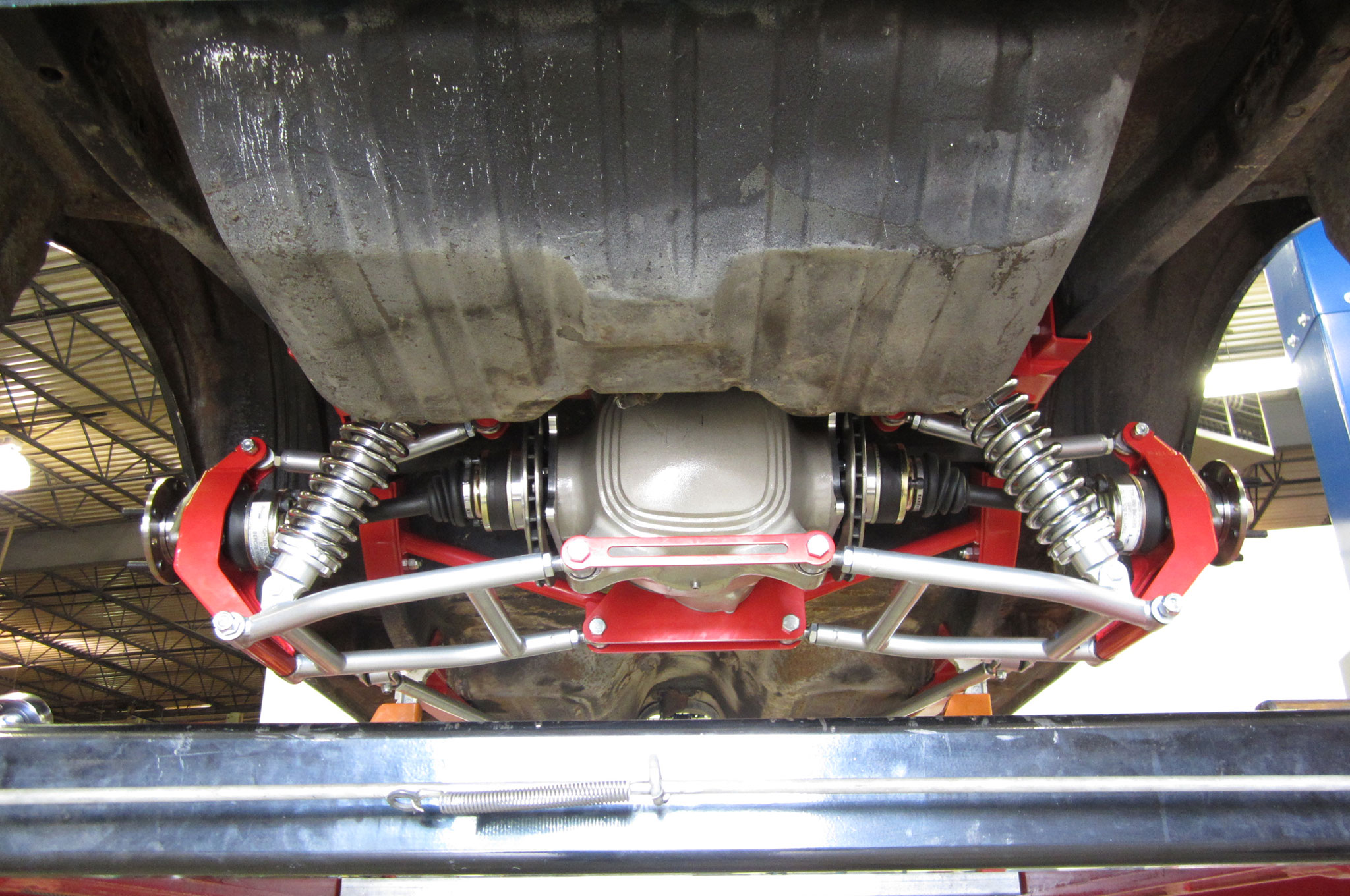 1968 Ford Mustang Heidts Irs Suspension Installed - Photo