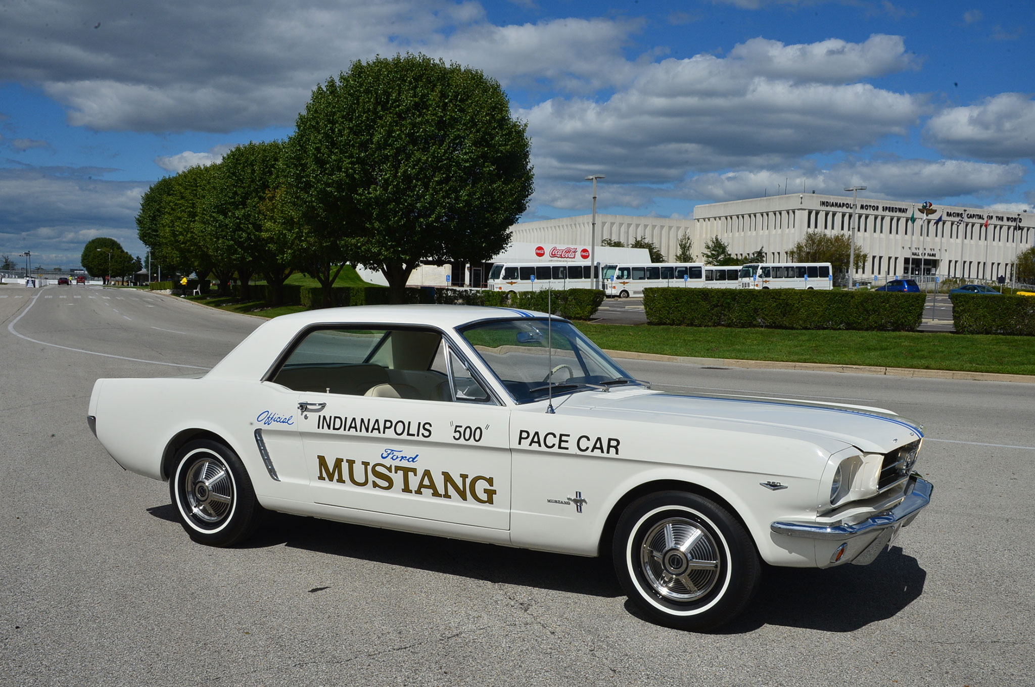 2 1964 Ford Mustang Side View