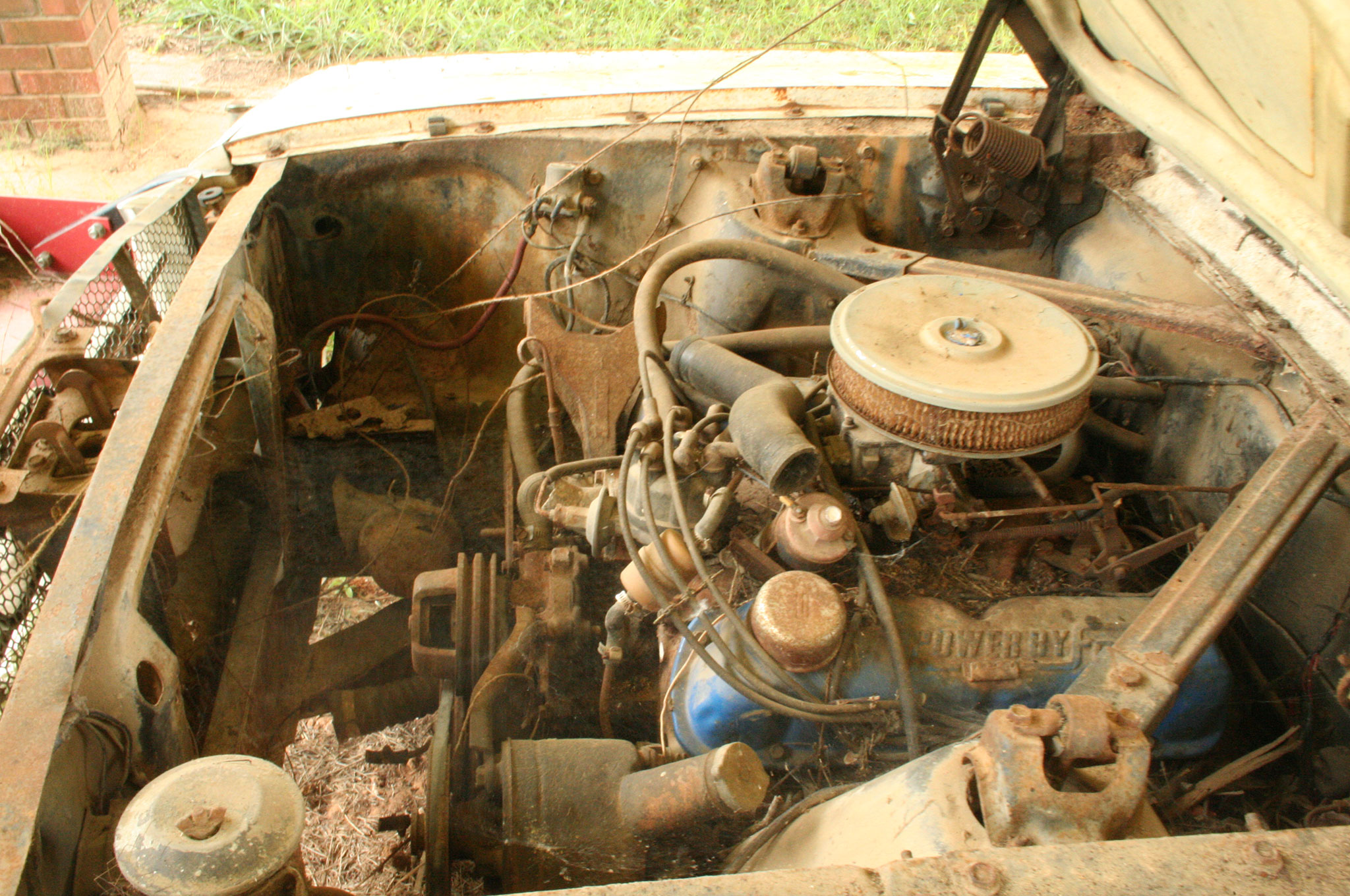 5 1964 Ford Mustang Original 260 Engine