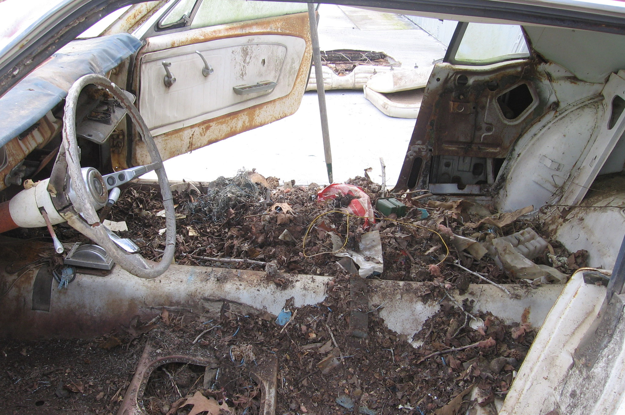 11 1964 Ford Mustang Floorpan