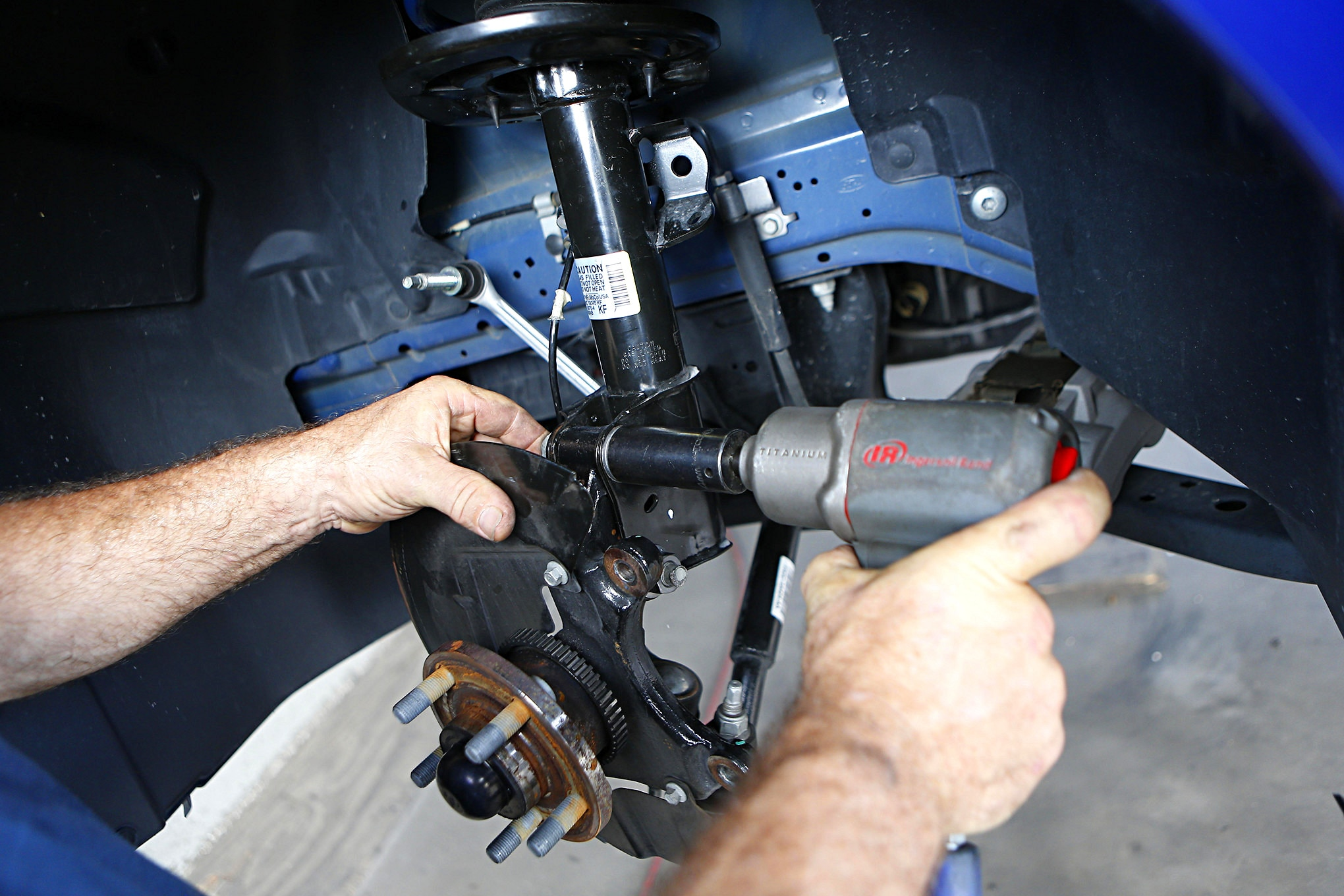 S550 Ford Mustang Maximum Motorsports Plates Install 022