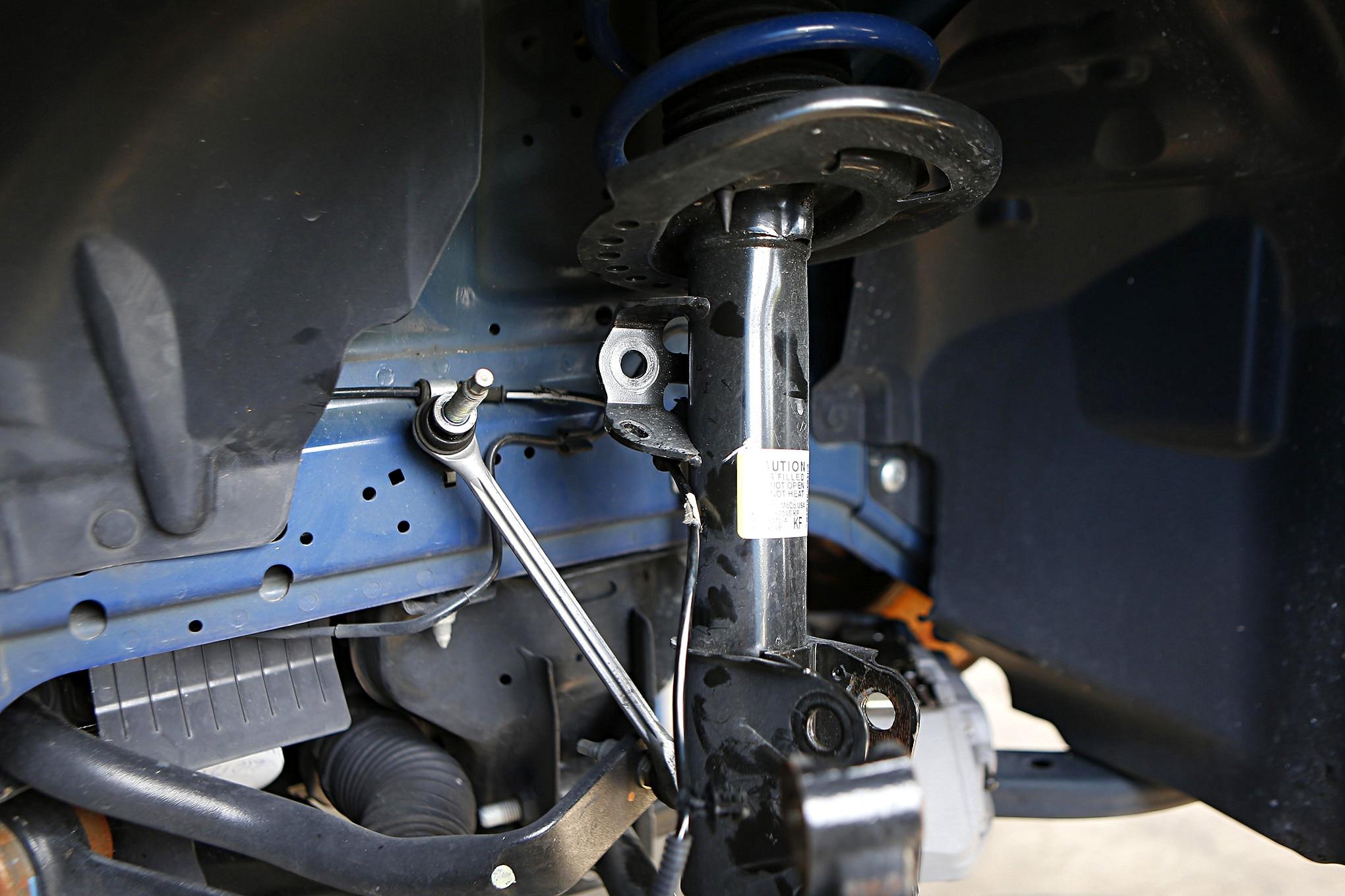 S550 Ford Mustang Maximum Motorsports Plates Install 006