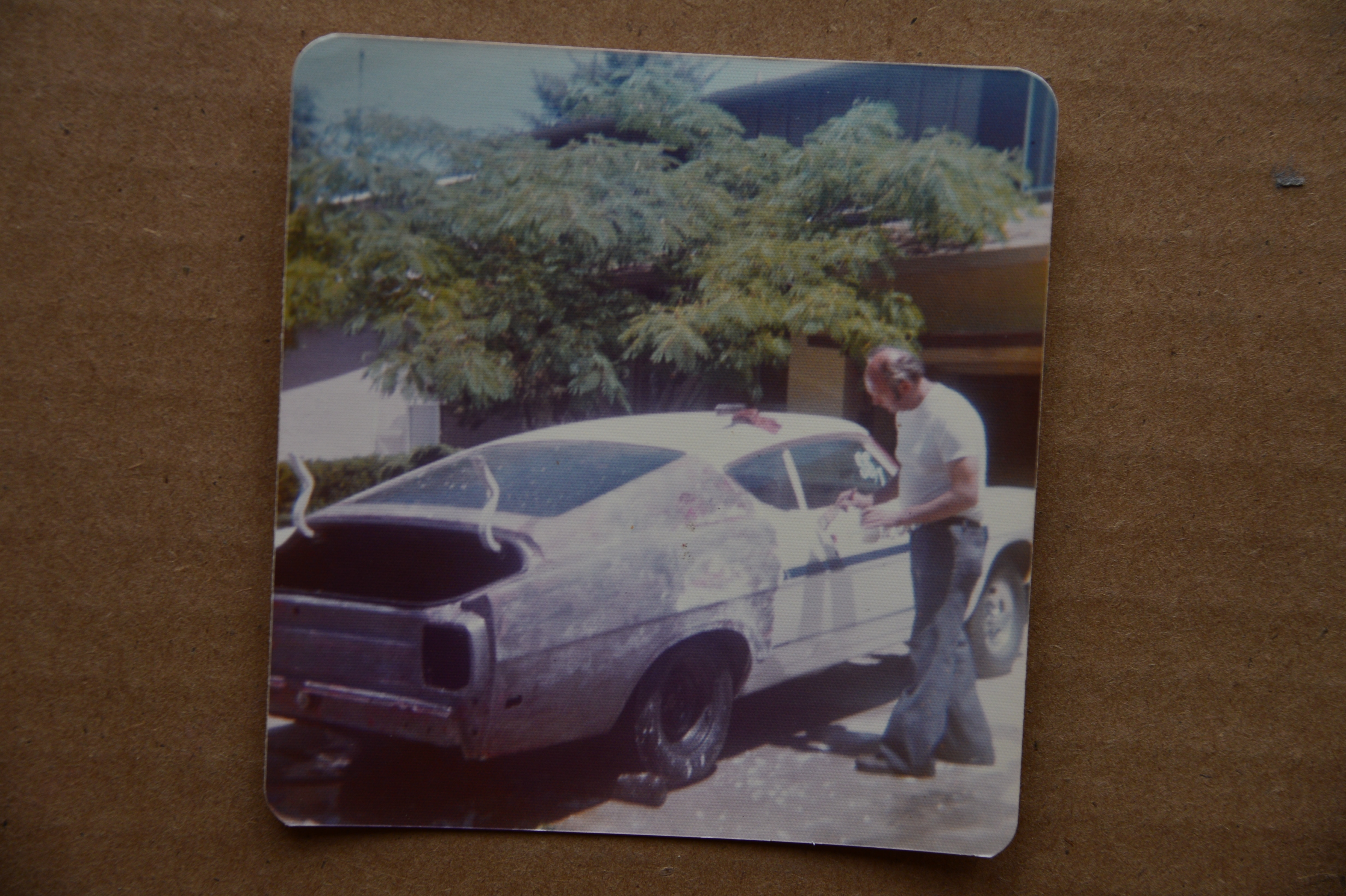 002 Rare Find 1969 Ford Fairlane Cobra Drag Team Driveway