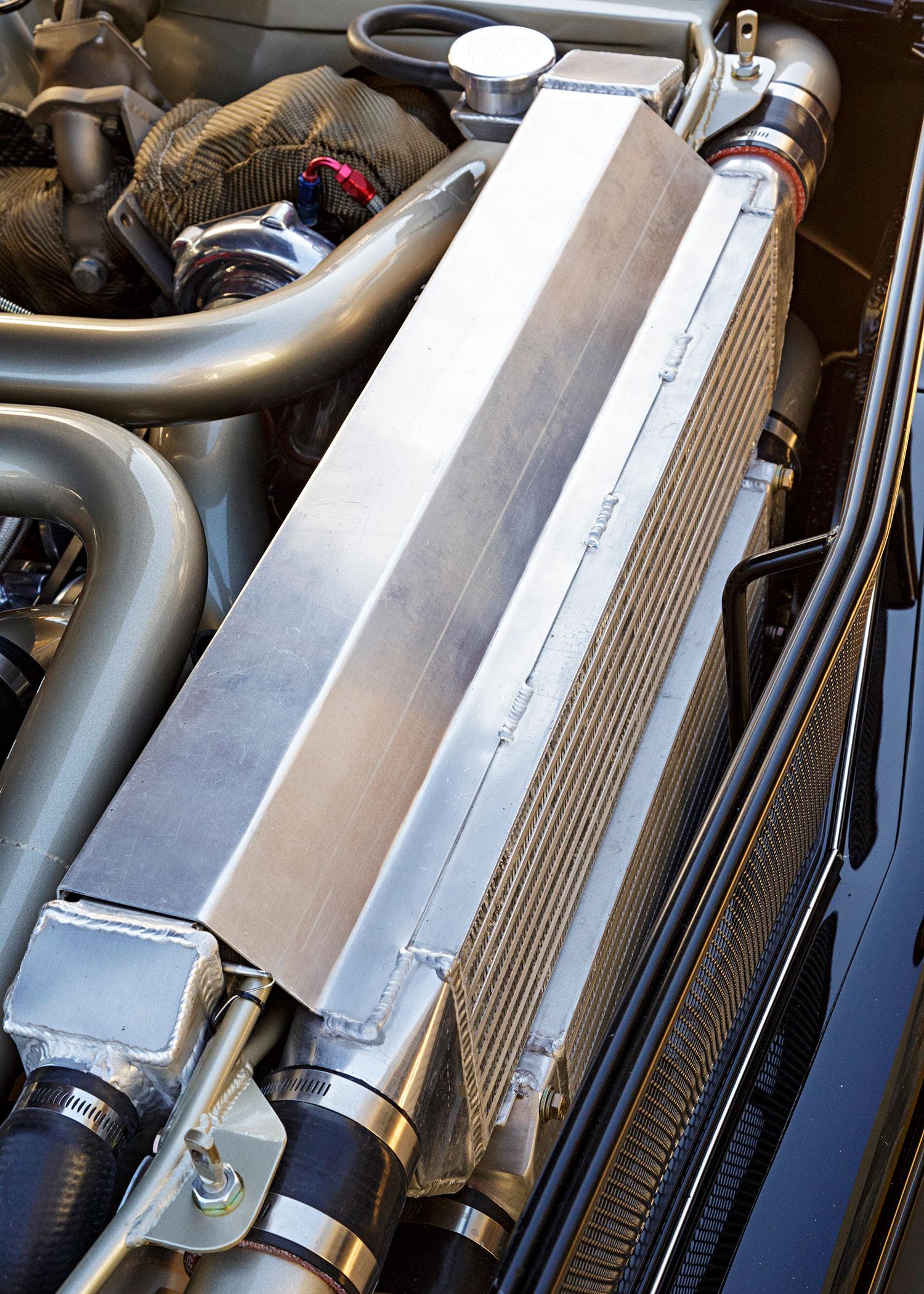 1968 Ford Mustang Radiator
