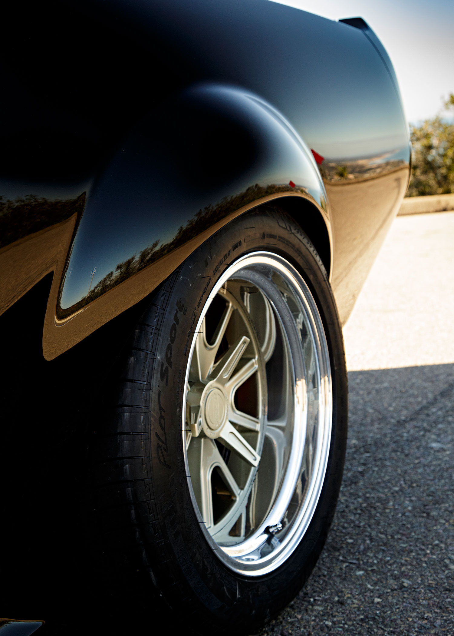 1968 Ford Mustang Wheel