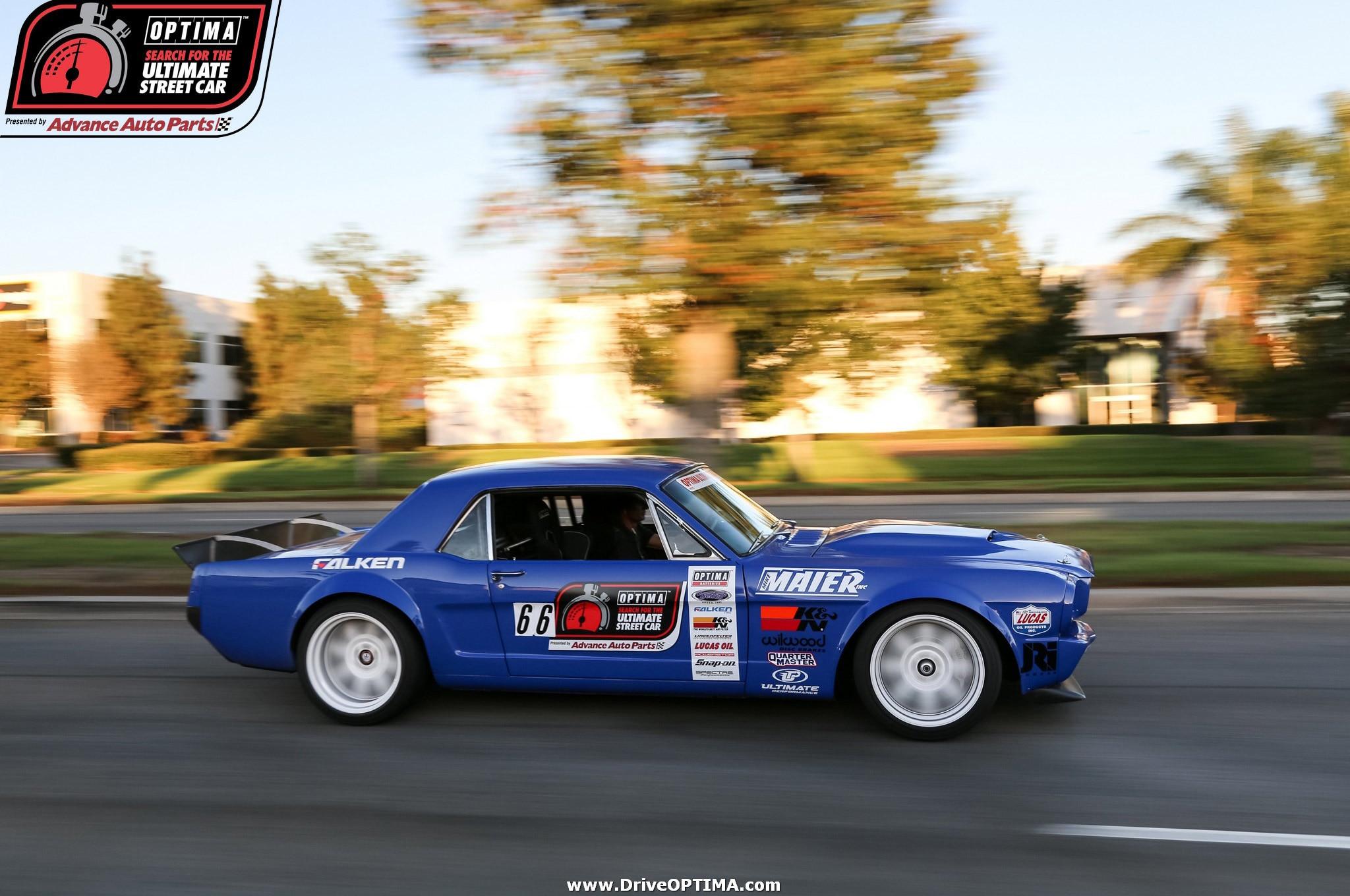 MM Mike Maier 1966 Ford Mustang DriveOPTIMA Fontana 2016 OSUSC 18