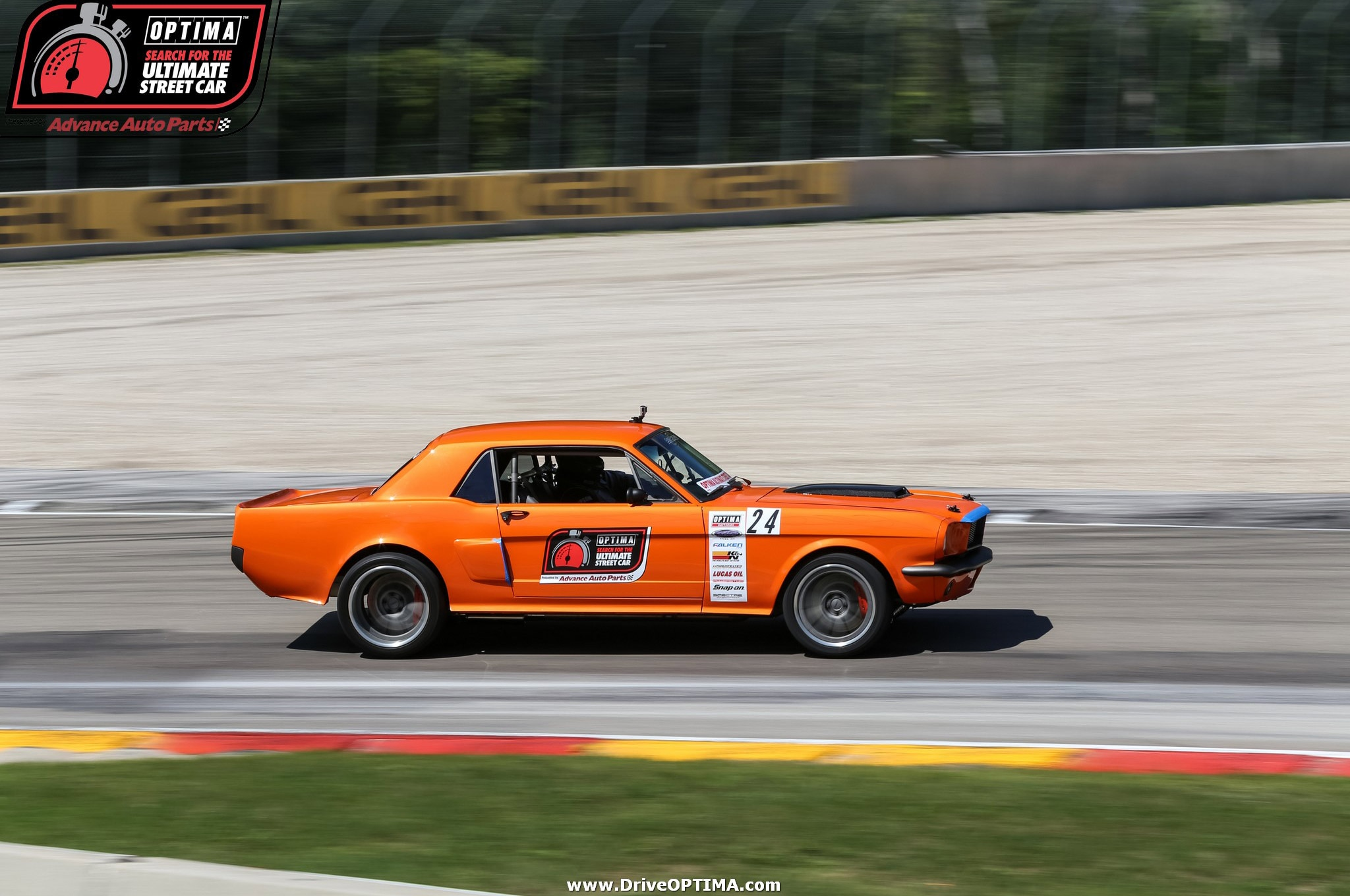 MM Chad Miller 1966 Ford Mustang Road America DriveOPTIMA 2016 11