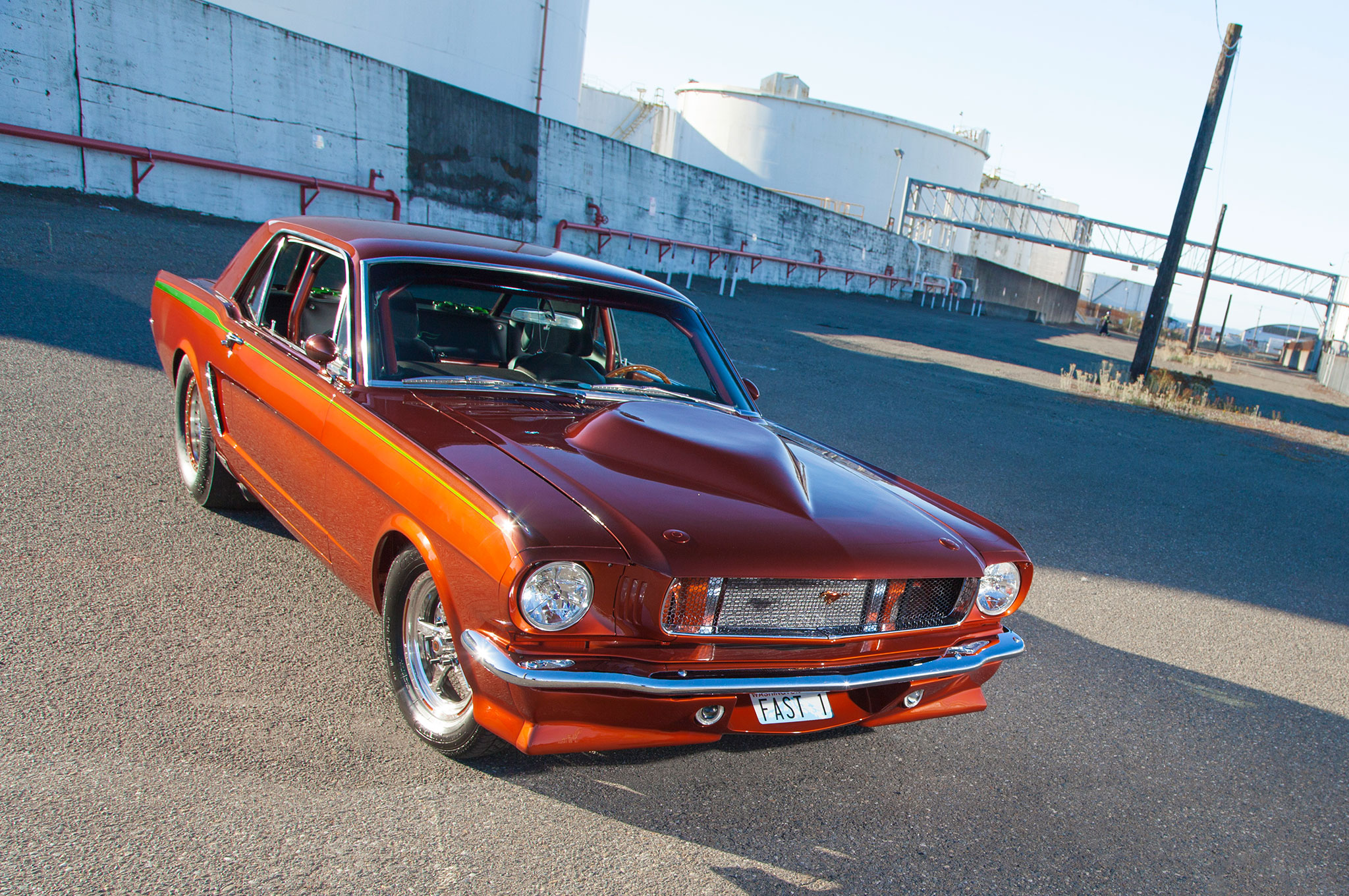 1964 Ford Mustang Front View