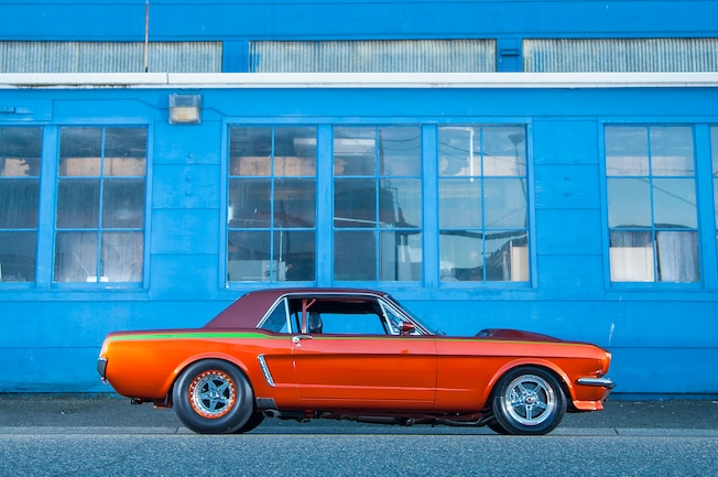 1964 Ford Mustang Side