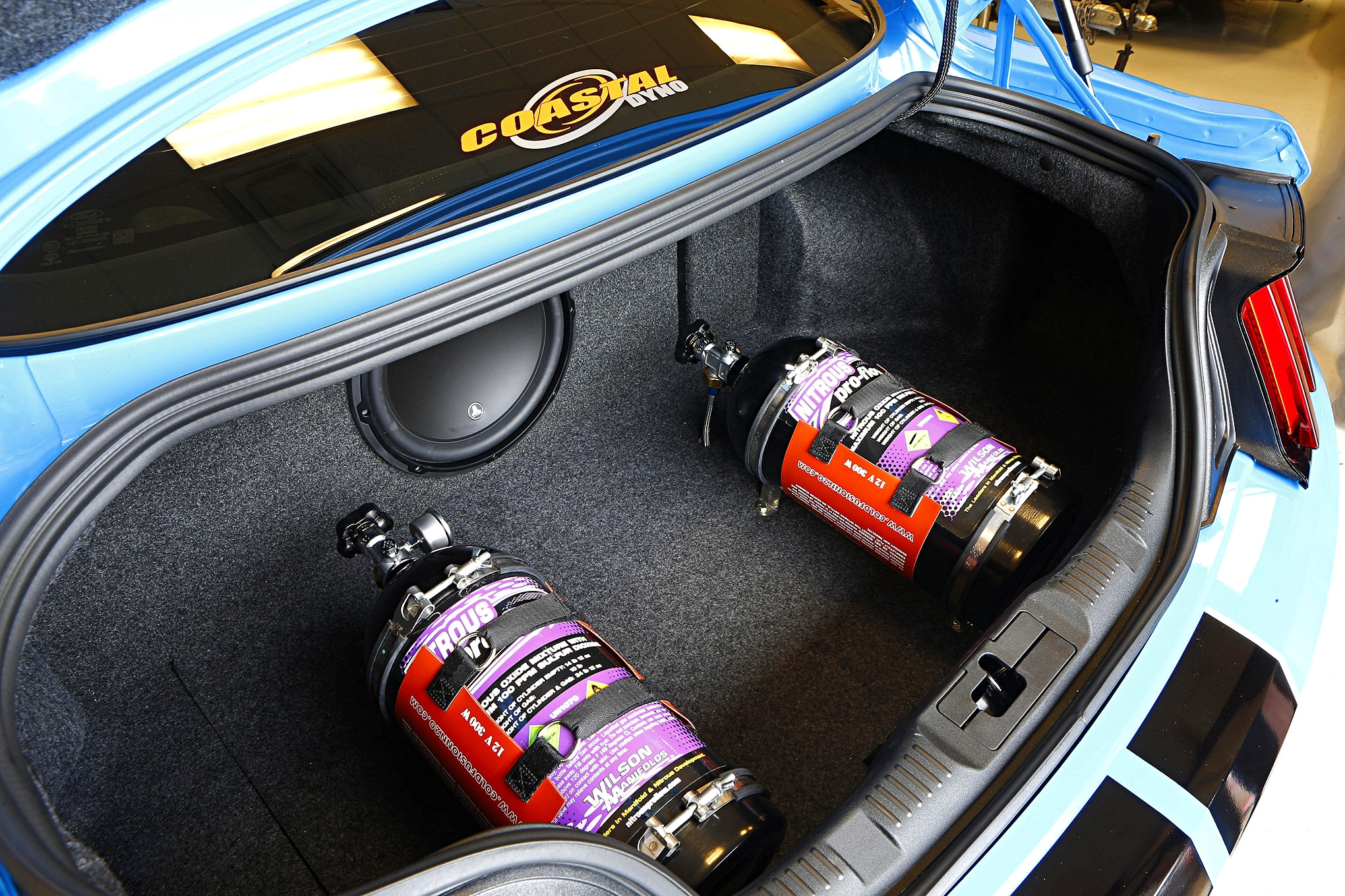 Nitrous Bottles Shelby Gt350 005