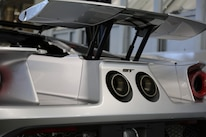 2017 Ford GT Competition Series 002 Rear Spoiler Up Angle