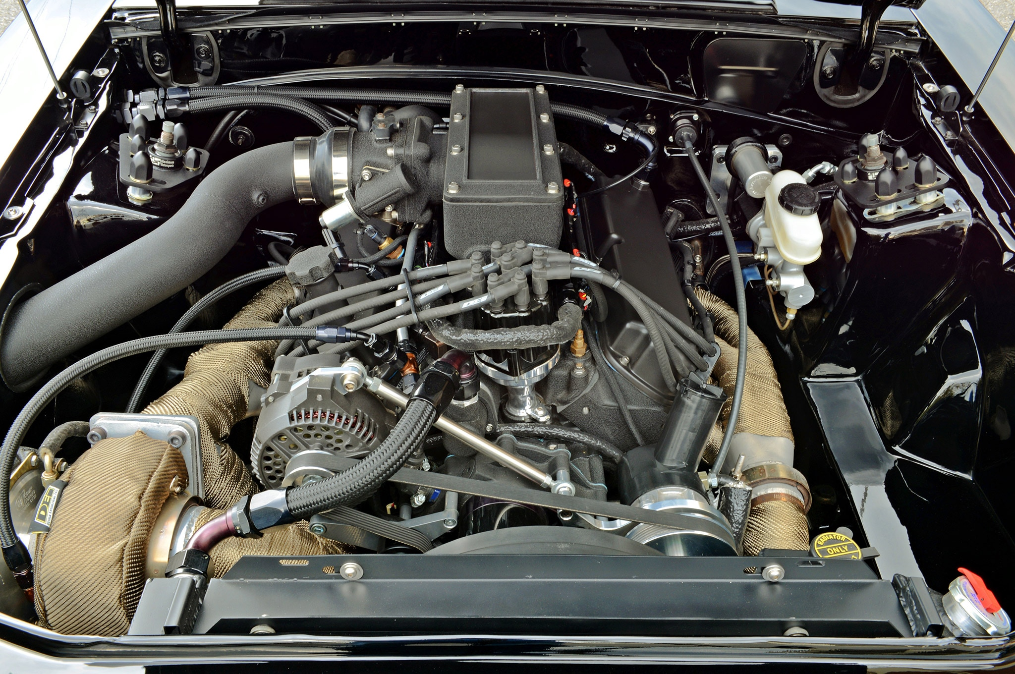 Scott 1988 Ford Mustang Gt Hartrick Gt Engine Front