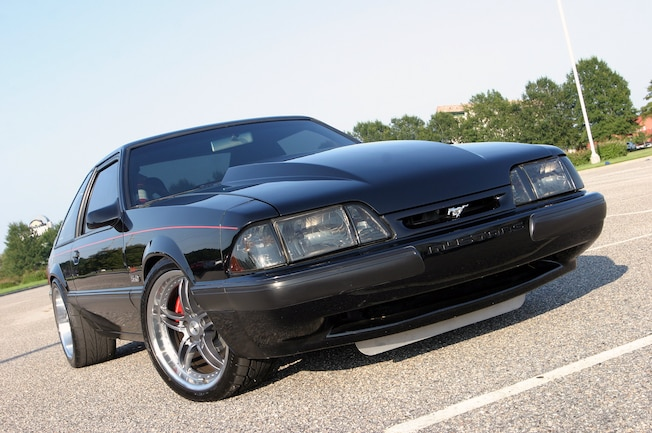 Ford Mustang Terminator Front Quarter