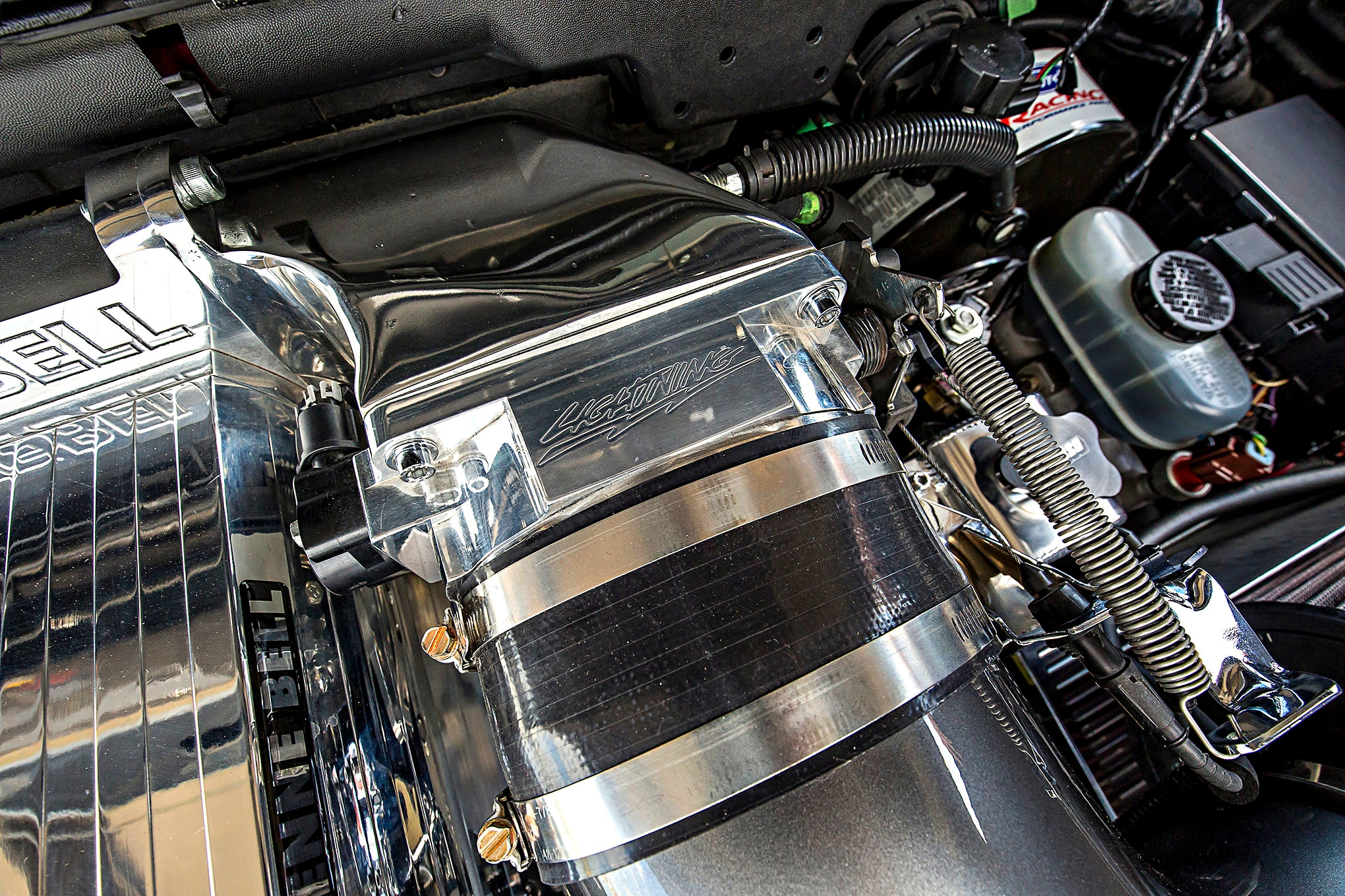 2003 Ford Lightning Engine View