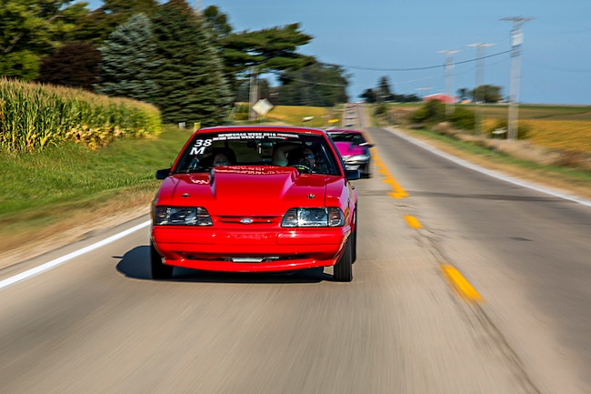 2017 Hot Rod Drag Week Event Recap Turbo Mustang 001