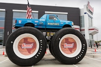 05 Summit Racing TX Retail Store Bigfoot Parking Lot Display