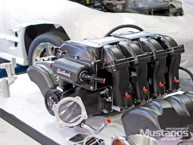 S197 Mustangs Supercharger Front View
