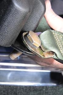 010 MORRIS CLASSIC SEAT BELTS MUSTANG