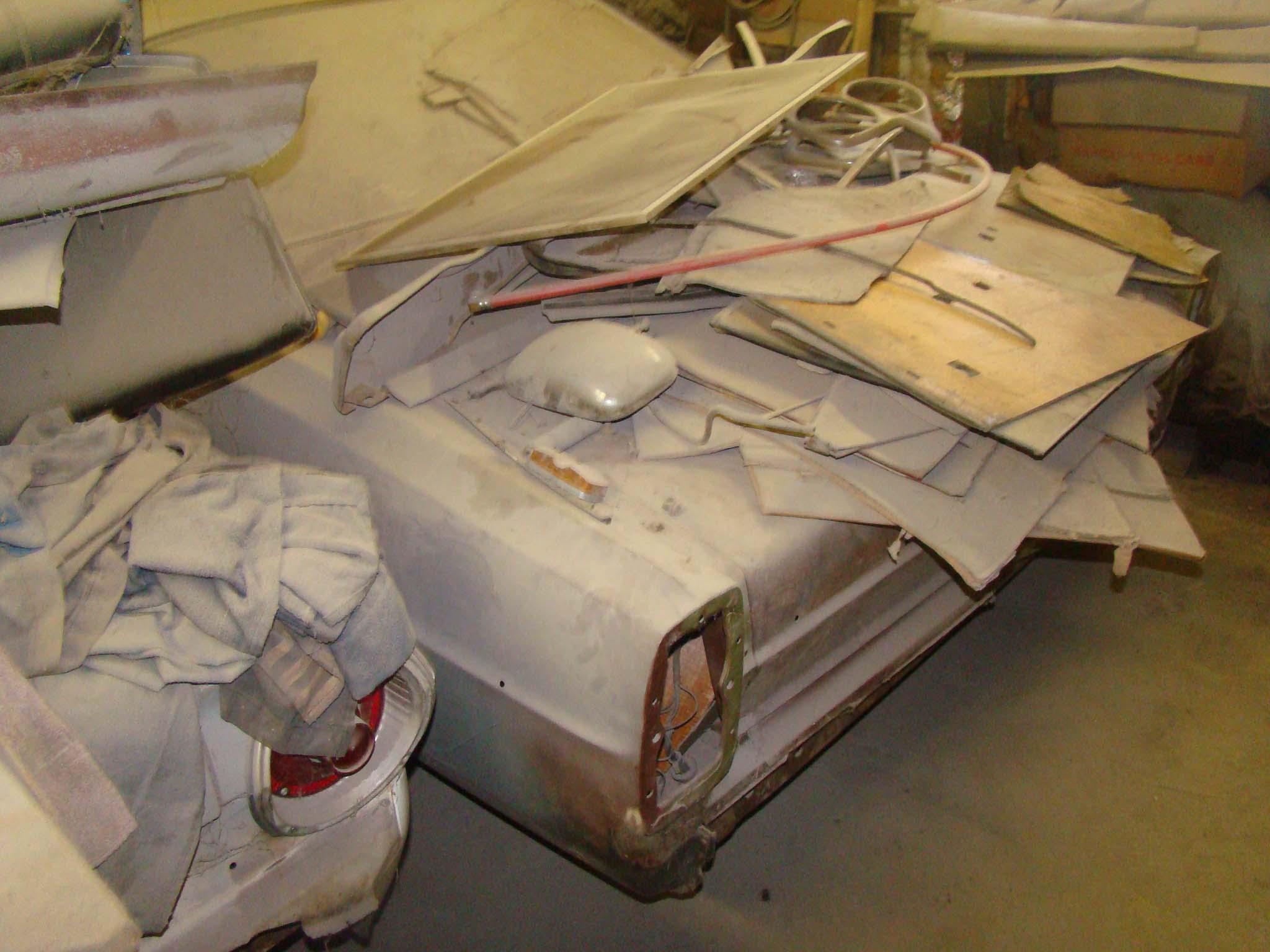 001 Cushman 1967 427 Ford Fairlane As Found