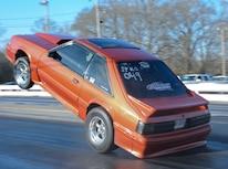 035 Orange Procharged Mustang Action
