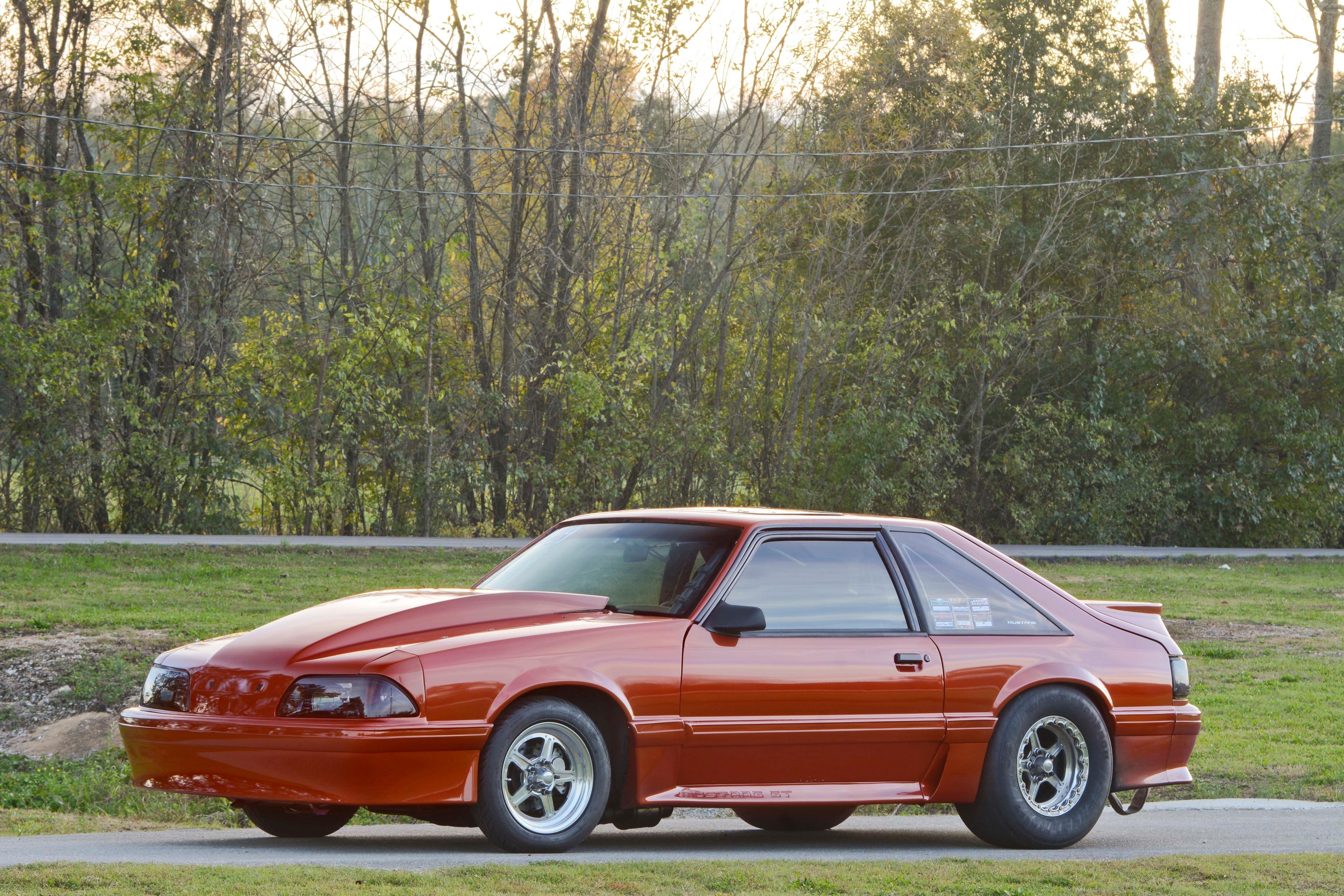 031 Orange Procharged Mustang Overalls