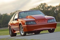 034 Orange Procharged Mustang Overalls