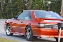 033 Orange Procharged Mustang Overalls