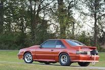 032 Orange Procharged Mustang Overalls