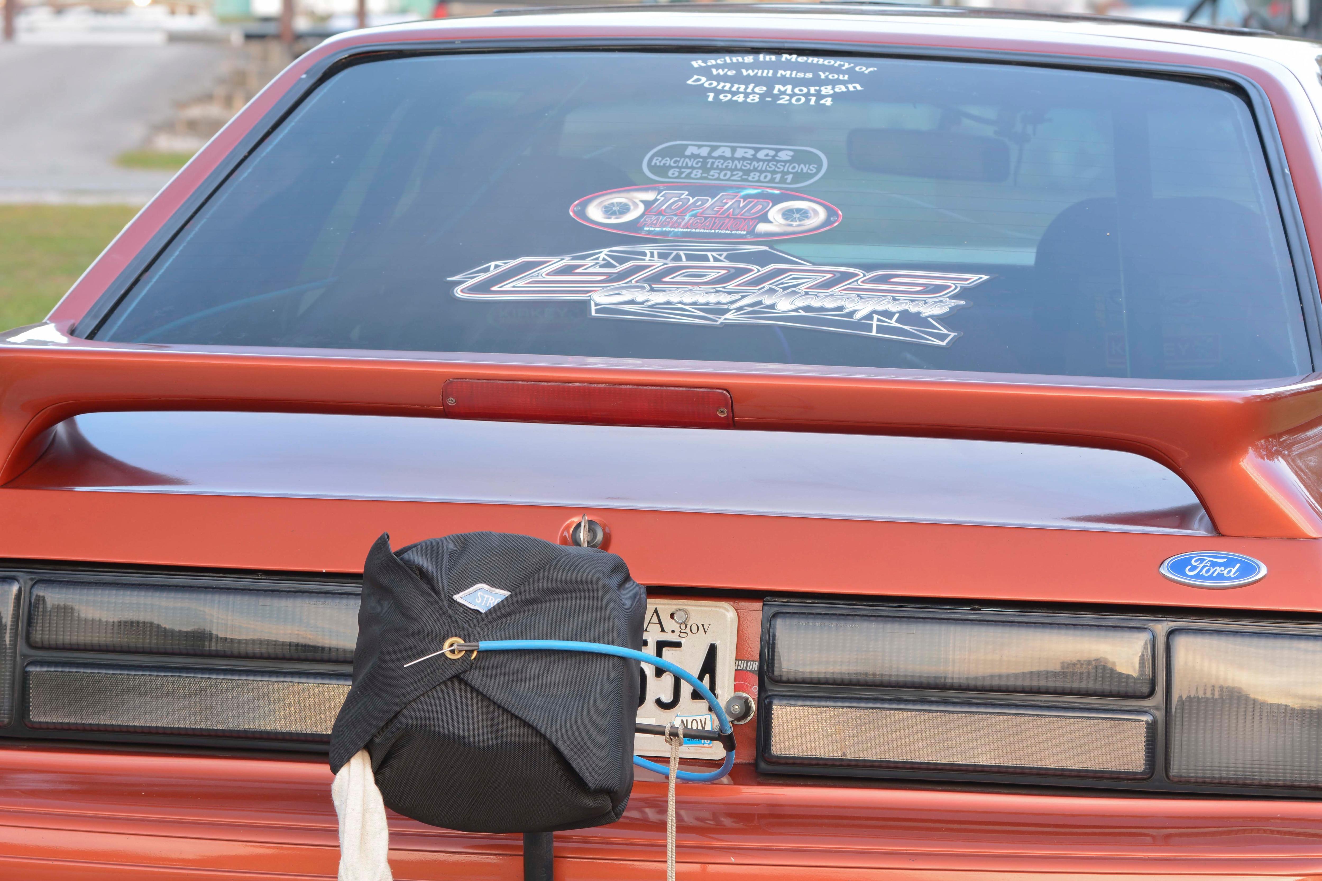 015 Orange Procharged Mustang Details
