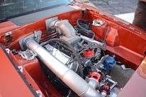 017 Orange Procharged Mustang Details