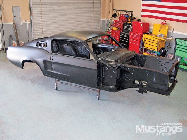 1968 Mustang Coupe To Fastback Project Front View