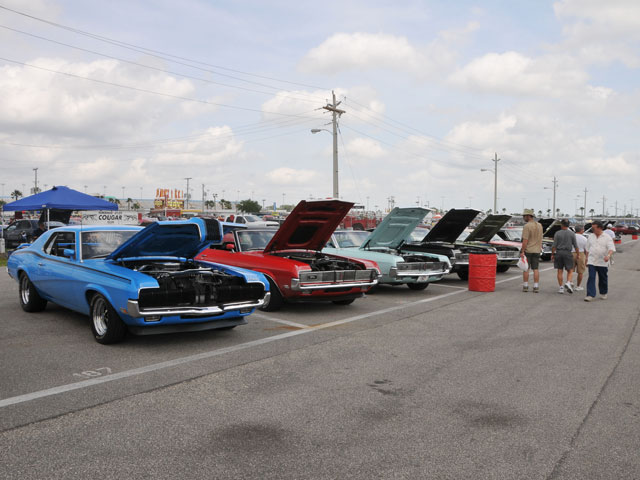 Daytona Spring Show Ford Sunshine State Cougar Club