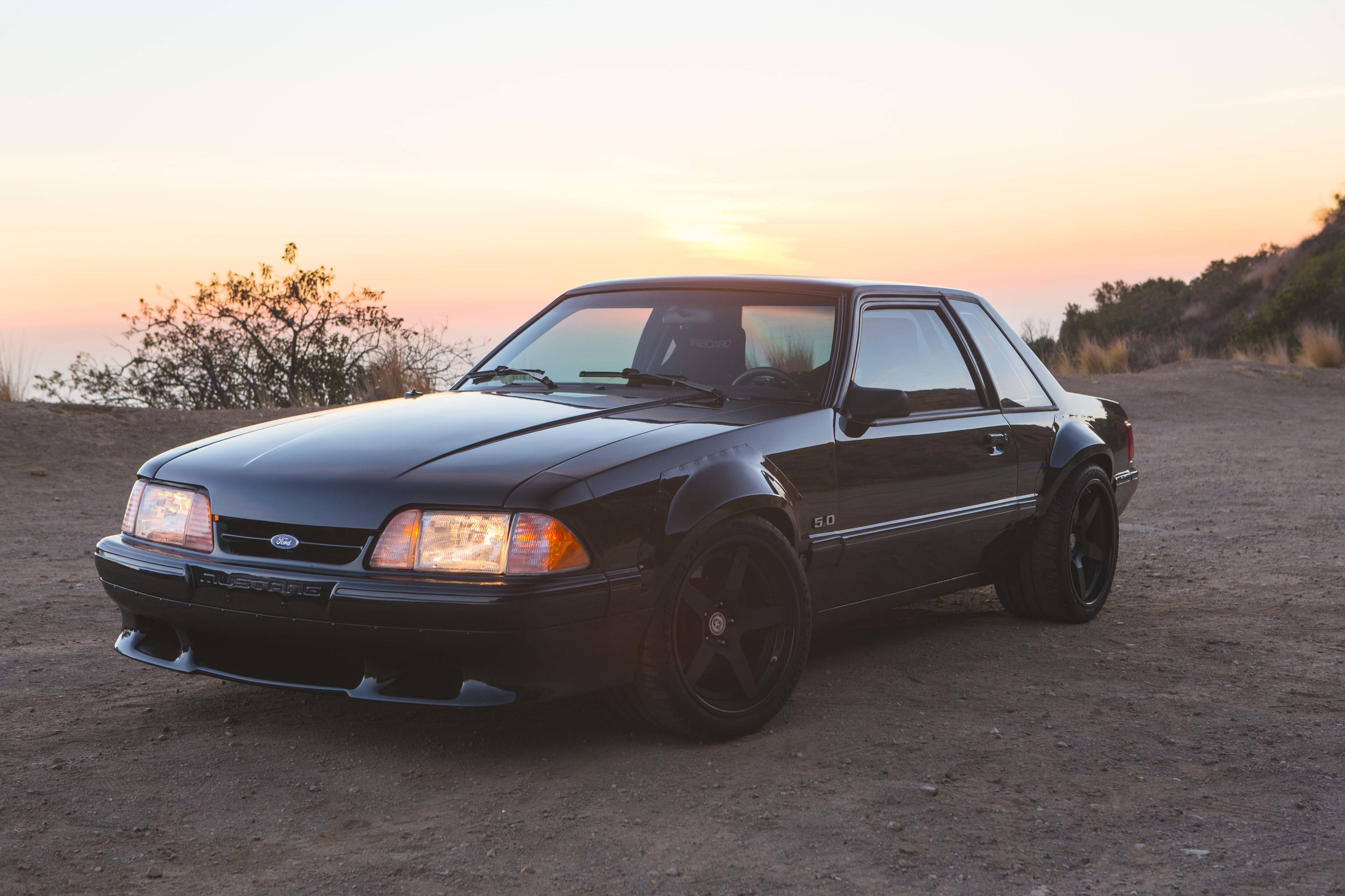1988 Ford Mustang Three Quarter