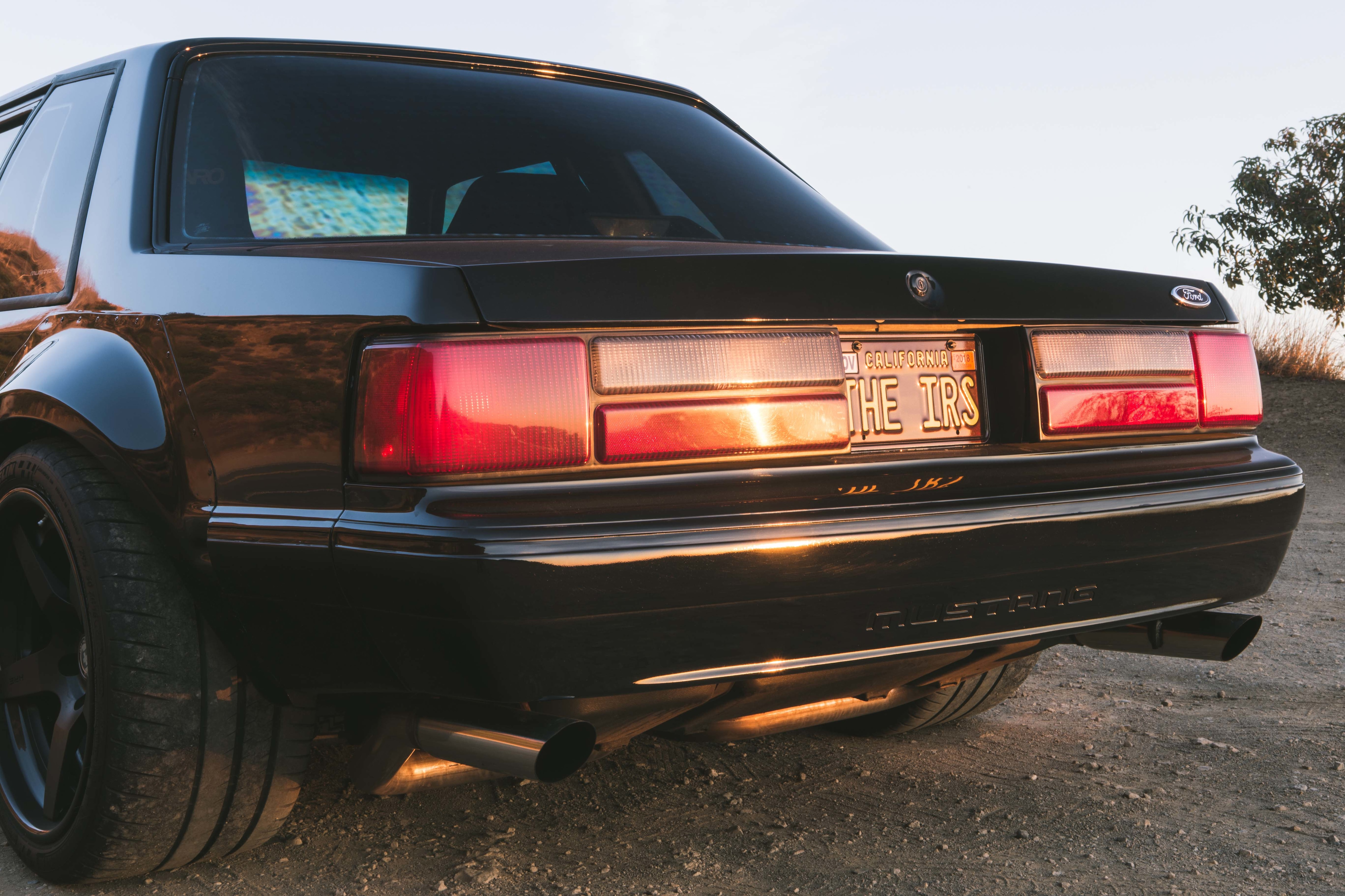 1988 Ford Mustang Rear End