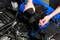 Holley INTECH Cold Air Intake Mustang Gt 010