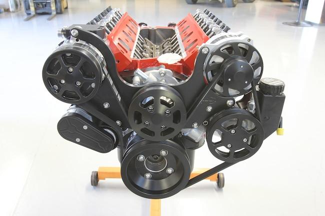 001 Eddie Motorsports Billet Accessory Drive Install