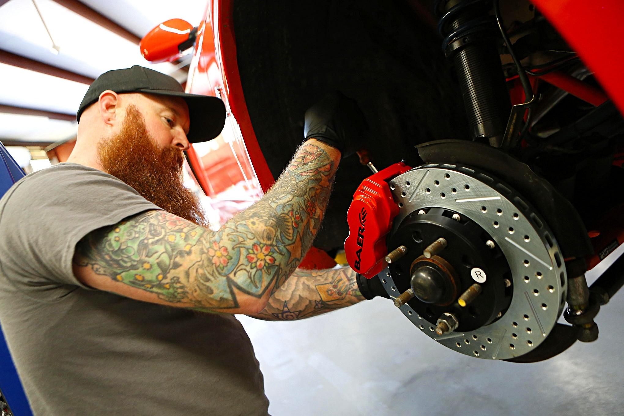 Baer Brakes Install New Edge 014