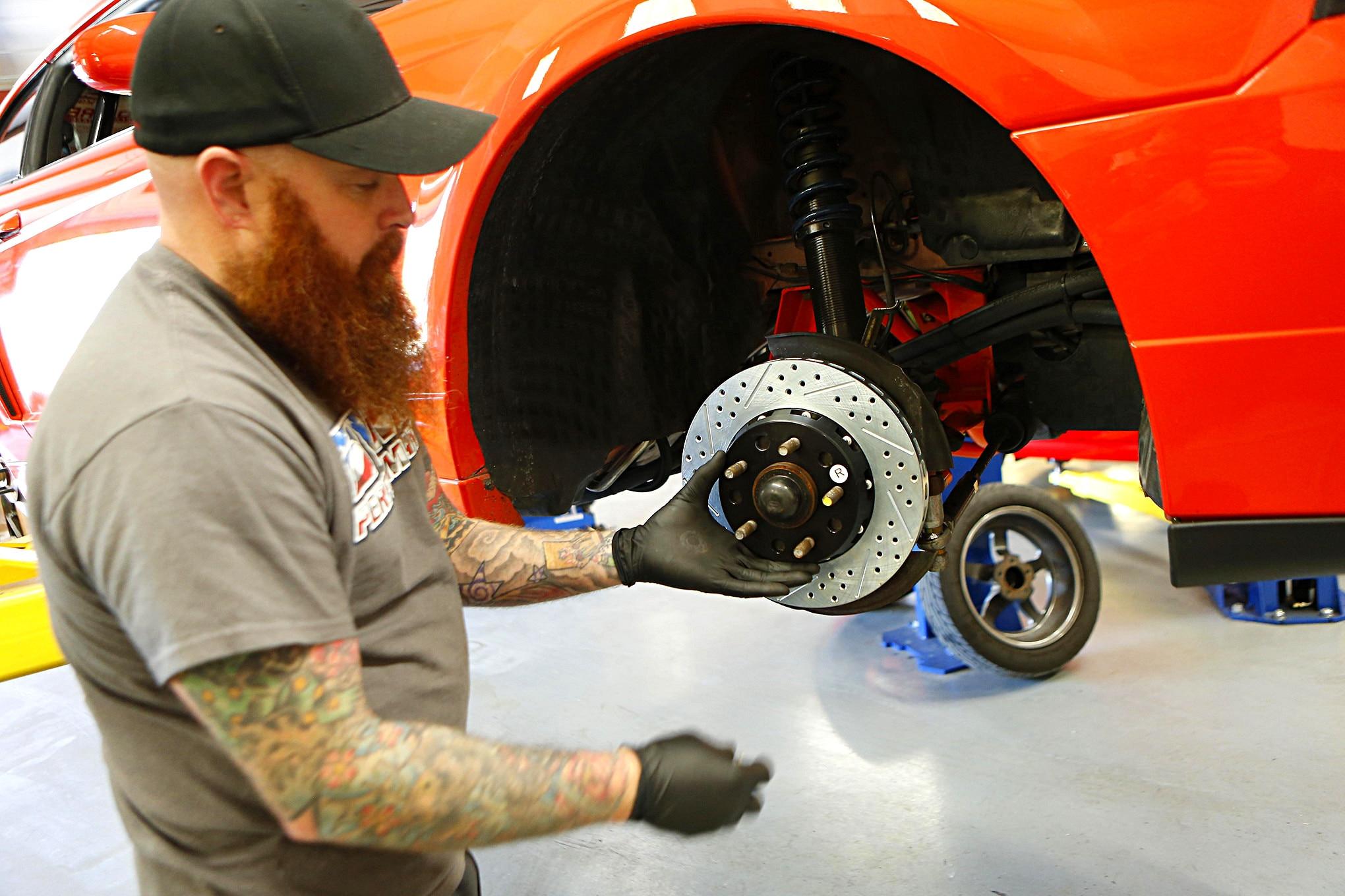 Baer Brakes Install New Edge 010