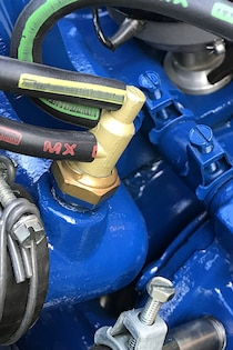 concours detailing cobra jet mustang engine 076