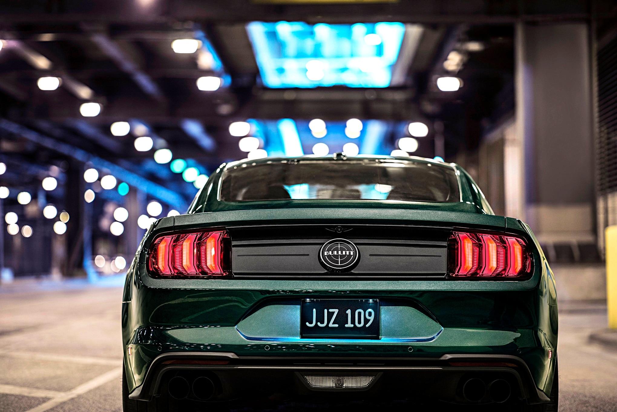 2019 Ford Mustang Bullitt Green 4