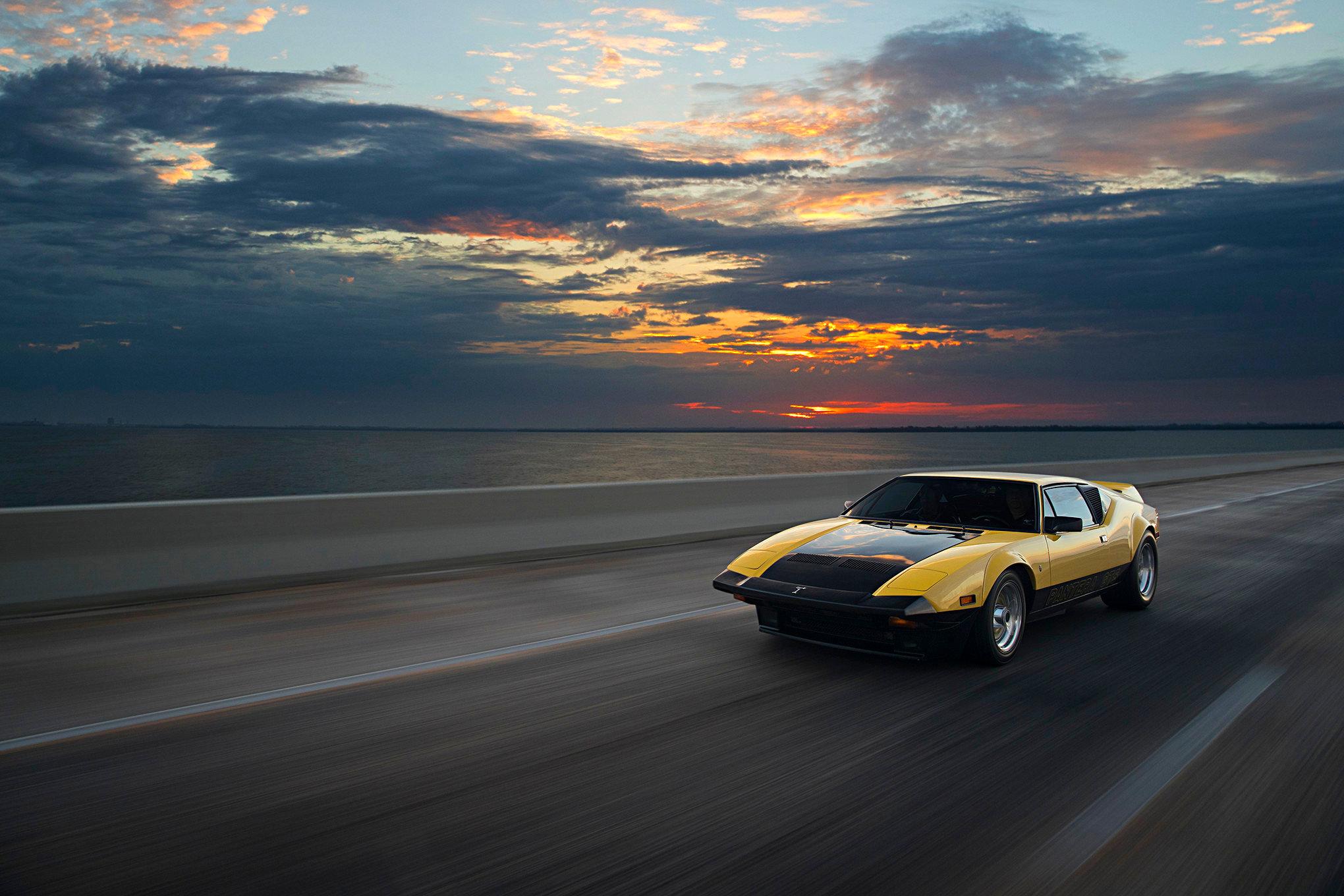 013 1974 Pantera Driving Front