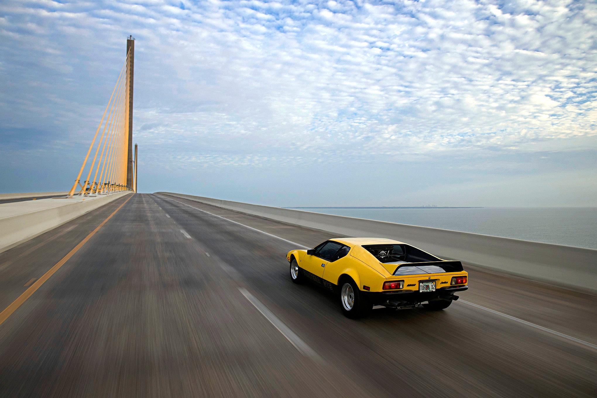 015 1974 Pantera Driving Rear High