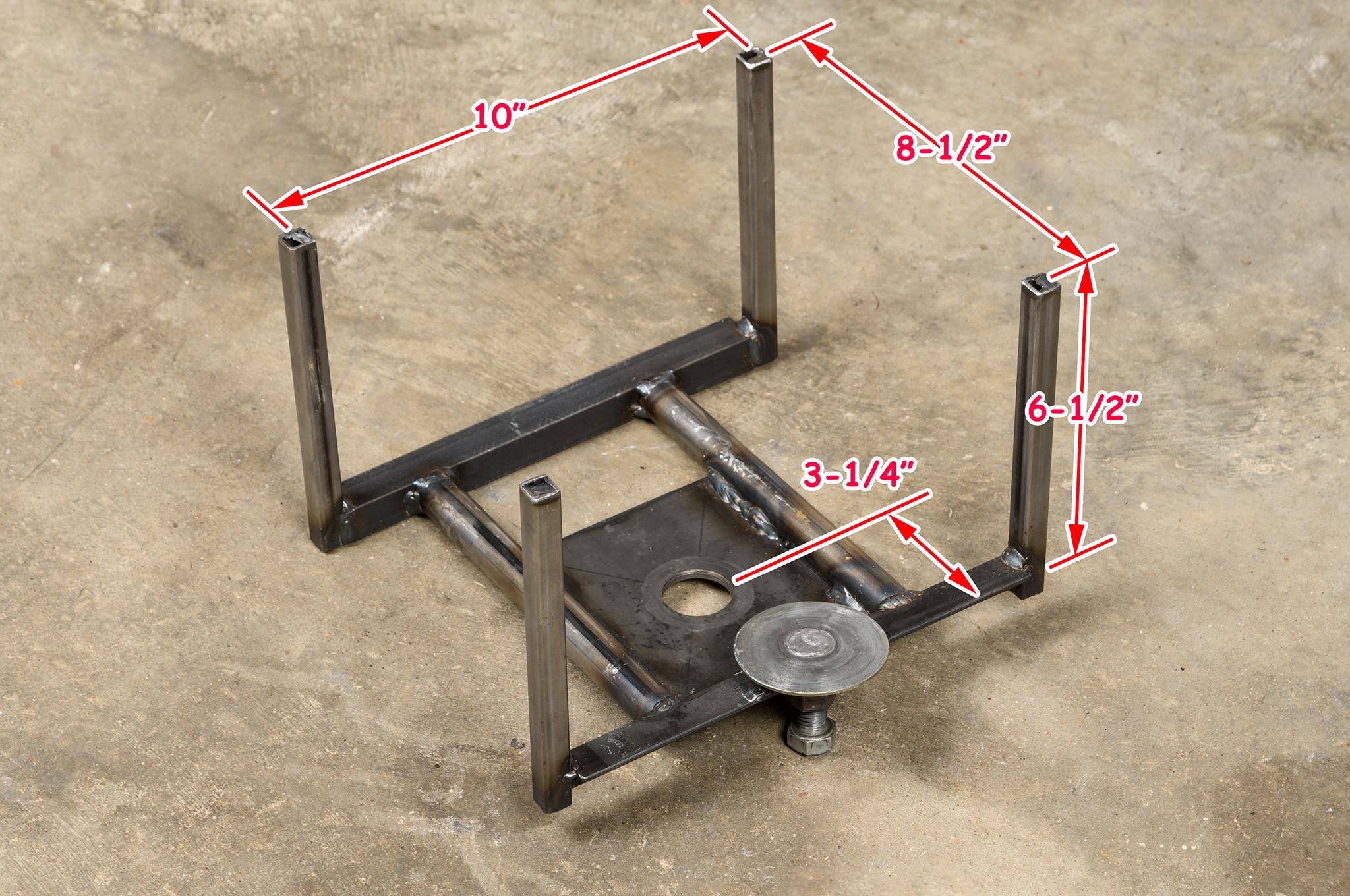003 Transmission Cradle Floor Jack Homemade Dimensions