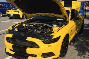 Disabled Air Force Veteran's ProCharged 2015 Mustang GT